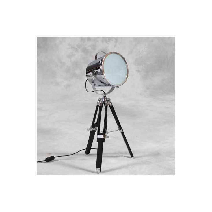 Tripod Chrome Spotlight Lamp Smithers Archives Smithers of Stamford £ 134.00 Store UK, US, EU, AE,BE,CA,DK,FR,DE,IE,IT,MT,NL,...