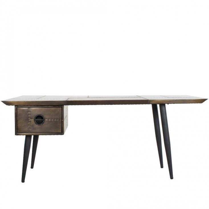 Brass Hornet Desk Aviation Furniture Smithers of Stamford 1,450.00 Store UK, US, EU, AE,BE,CA,DK,FR,DE,IE,IT,MT,NL,NO,ES,SE