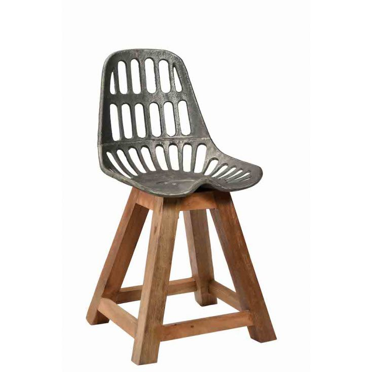 Industrial Dining Chair Reclaimed Wood Furniture Smithers of Stamford £ 220.00 Store UK, US, EU, AE,BE,CA,DK,FR,DE,IE,IT,MT,N...