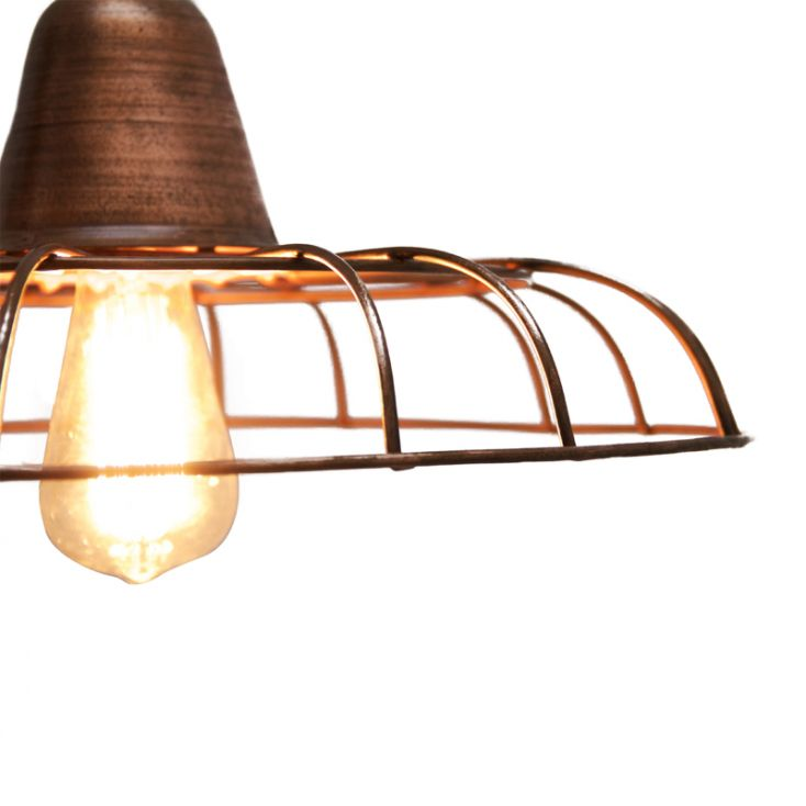 Copper Wire Light Pendant Vintage Lighting Smithers of Stamford £ 75.00 Store UK, US, EU, AE,BE,CA,DK,FR,DE,IE,IT,MT,NL,NO,E...