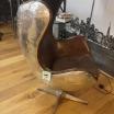 Pilot Meteor Aluminium Leather Chair