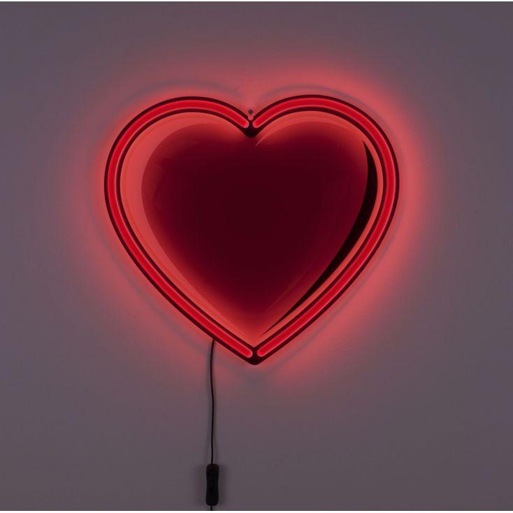 Heartbeat Neon Light Vintage Lighting Seletti £ 226.00 Store UK, US, EU, AE,BE,CA,DK,FR,DE,IE,IT,MT,NL,NO,ES,SE