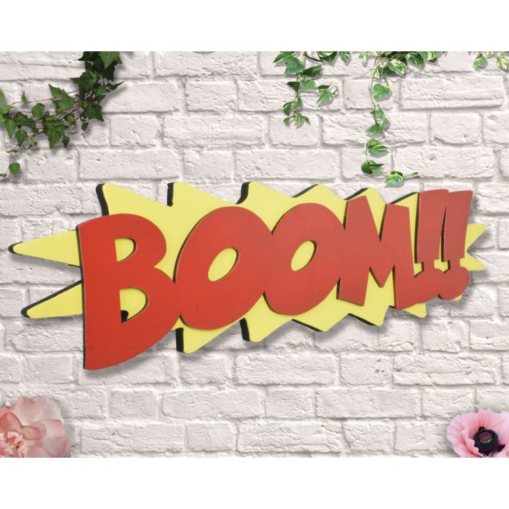 Boom Sign Retro Signs £ 35.00 Store UK, US, EU, AE,BE,CA,DK,FR,DE,IE,IT,MT,NL,NO,ES,SE