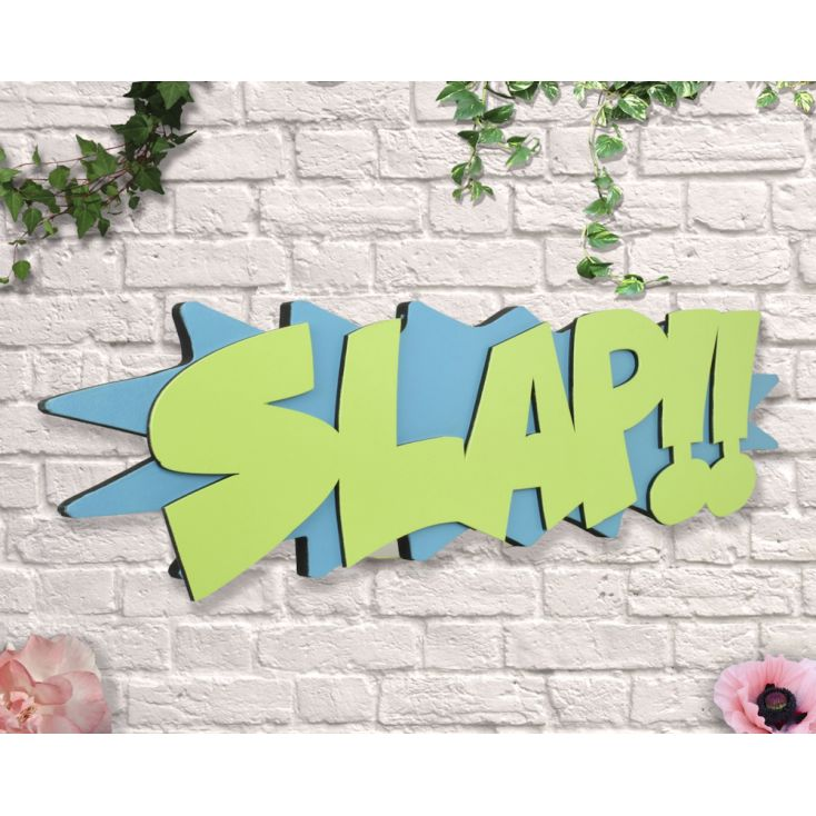 Slap Sign Retro Signs £ 35.00 Store UK, US, EU, AE,BE,CA,DK,FR,DE,IE,IT,MT,NL,NO,ES,SE