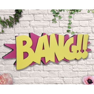 Bang Sign Retro Signs £ 35.00 Store UK, US, EU, AE,BE,CA,DK,FR,DE,IE,IT,MT,NL,NO,ES,SE