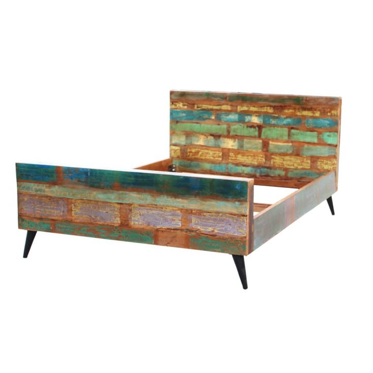 Miami Super King Bed Reclaimed Wood Furniture Smithers of Stamford 1,329.00 Store UK, US, EU, AE,BE,CA,DK,FR,DE,IE,IT,MT,NL,N...