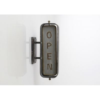 Open Closed Sign Retro Signs Smithers of Stamford £ 88.00 Store UK, US, EU, AE,BE,CA,DK,FR,DE,IE,IT,MT,NL,NO,ES,SE