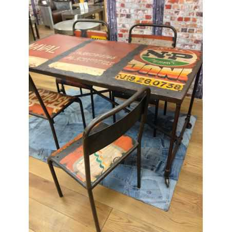 Drum Art Dining Table Smithers Archives Smithers of Stamford £ 740.00 Store UK, US, EU, AE,BE,CA,DK,FR,DE,IE,IT,MT,NL,NO,ES,SE