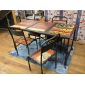 Drum Art Dining Table