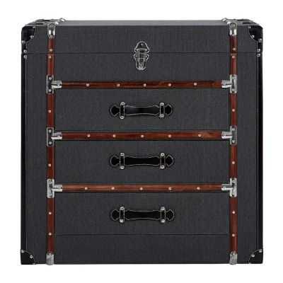 Steamer Trunk Chest Of Drawers
