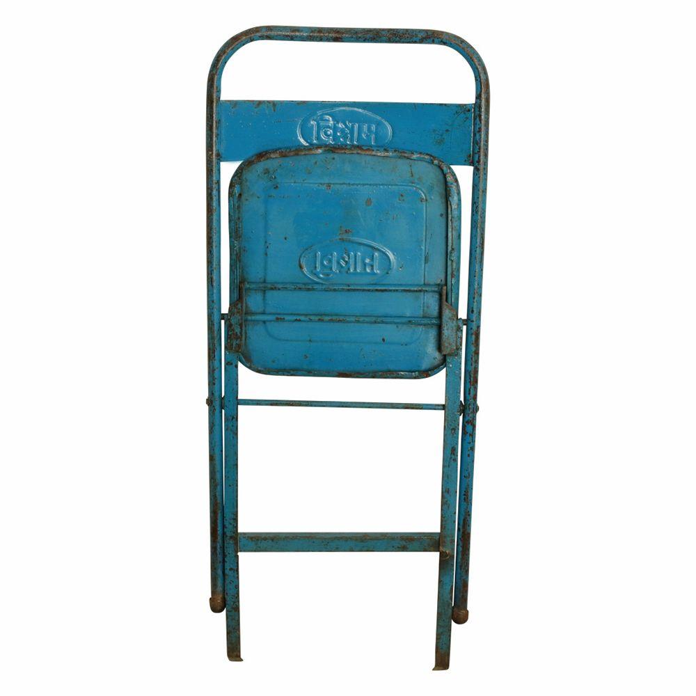 Vintage Amp Antique Metal Folding Chairs