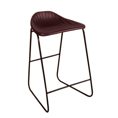 Brown Leather Bar Stools Industrial Furniture Smithers of Stamford £ 175.00 Store UK, US, EU, AE,BE,CA,DK,FR,DE,IE,IT,MT,NL,N...