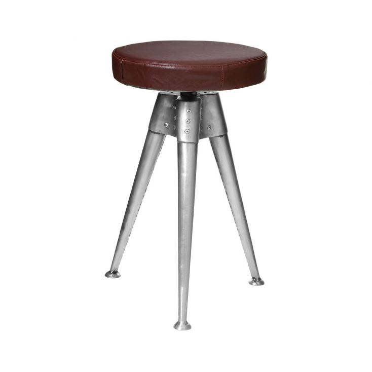 Aviator Stool Aviation Furniture £ 162.00 Store UK, US, EU, AE,BE,CA,DK,FR,DE,IE,IT,MT,NL,NO,ES,SE