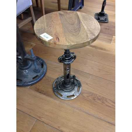 Mohawk Industrial Clunk Stool Home Smithers of Stamford £ 227.00 Store UK, US, EU, AE,BE,CA,DK,FR,DE,IE,IT,MT,NL,NO,ES,SE