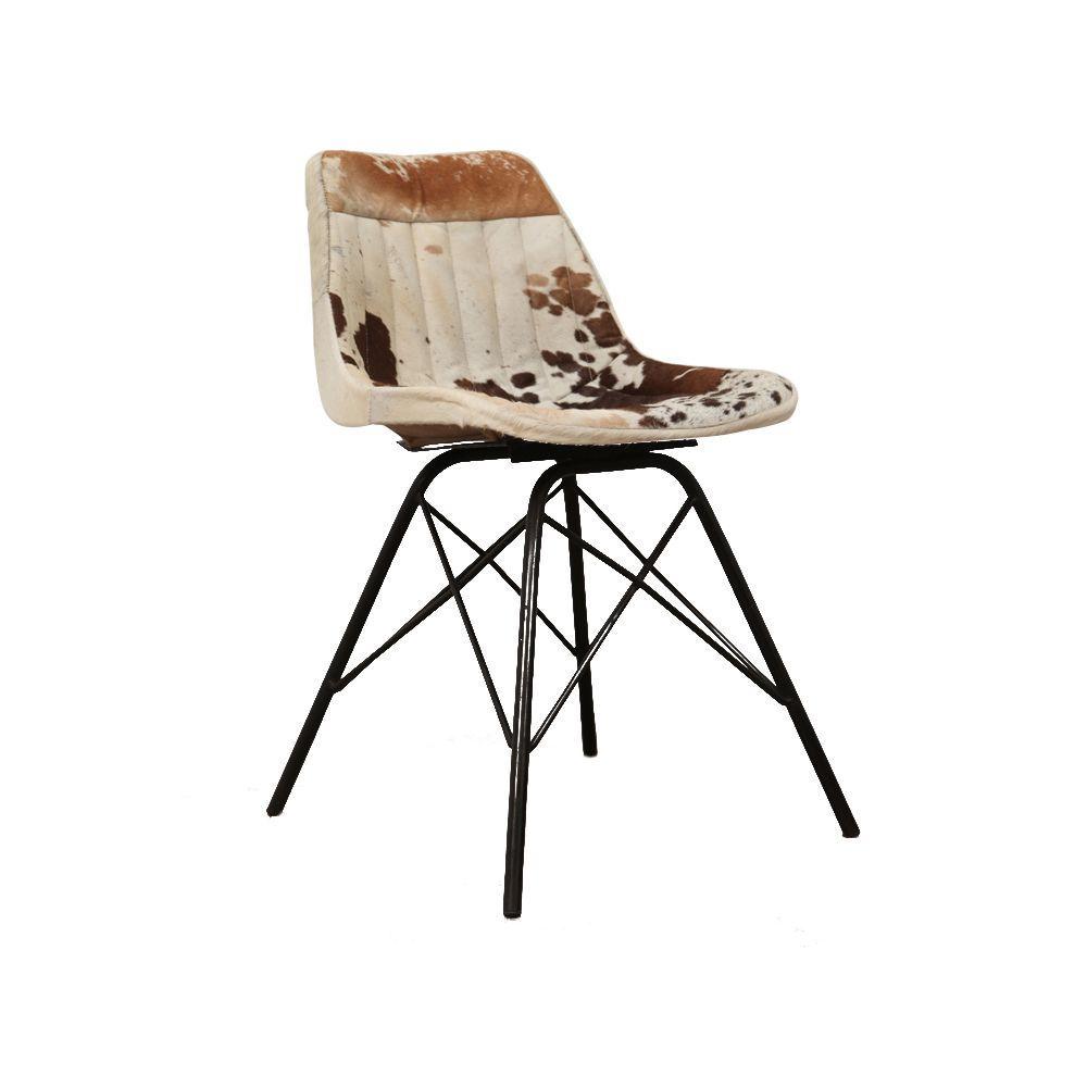 Cowhide Barstools Vintage Black White Hairhide Leather Bar: Cowhide Dining Chairs UK & Tan Black Vintage Leather