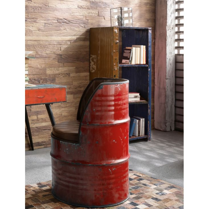 Oil Drum Chair Oil Drum Furniture Smithers of Stamford £ 425.00 Store UK, US, EU, AE,BE,CA,DK,FR,DE,IE,IT,MT,NL,NO,ES,SE