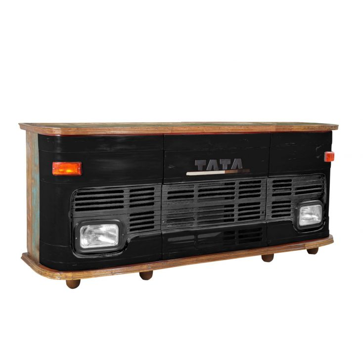 Black Truck Bar Counter Reclaimed Wood Furniture Smithers of Stamford 2,750.00 Store UK, US, EU, AE,BE,CA,DK,FR,DE,IE,IT,MT,N...