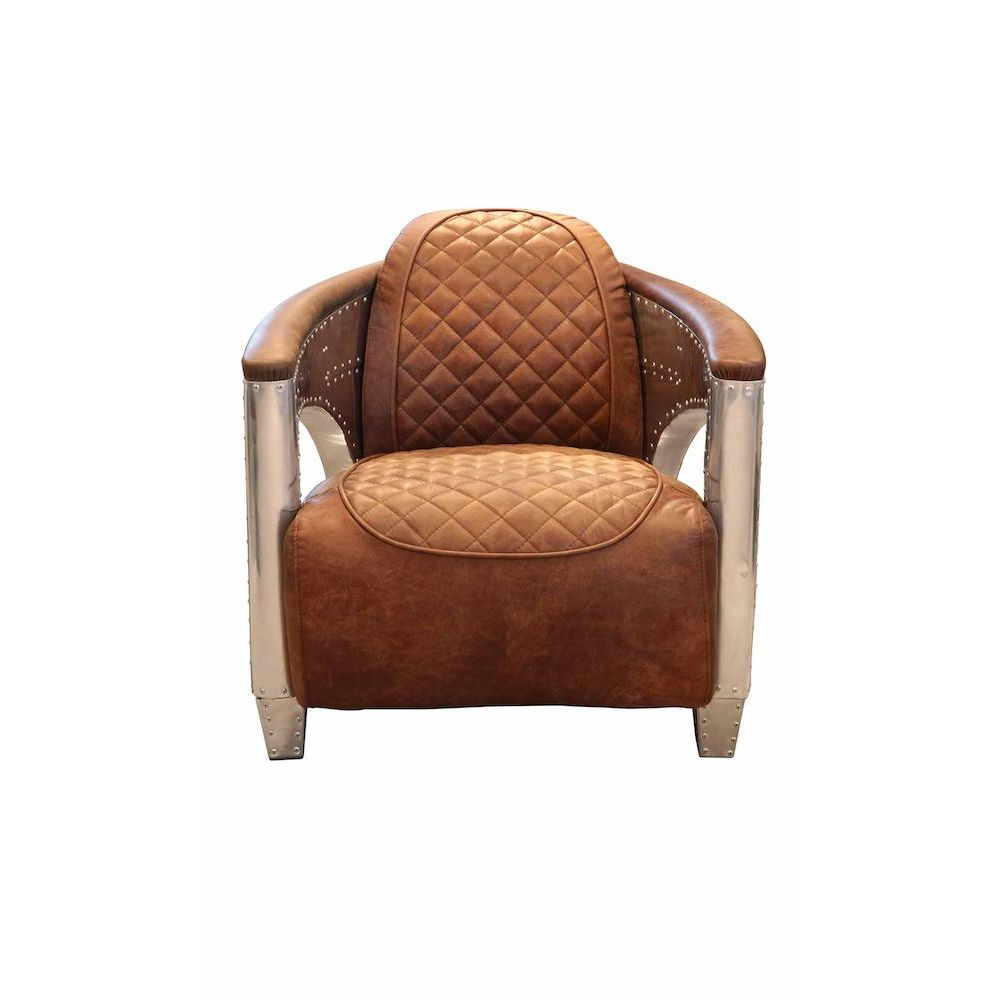 Retro Modern Distressed Leather Armchair Sale | Cinema ...
