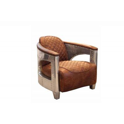 Aviator Leather Armchair