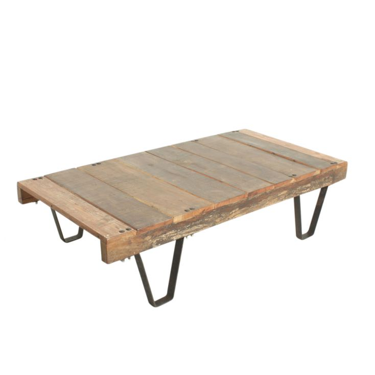 Factory Cart Coffee Table Reclaimed Wood Furniture Smithers of Stamford £ 430.00 Store UK, US, EU, AE,BE,CA,DK,FR,DE,IE,IT,MT...