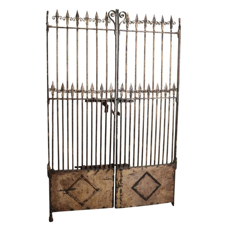 Georigian Cast Iron Entrance Gates Outdoor Furniture 1,600.00 Store UK, US, EU, AE,BE,CA,DK,FR,DE,IE,IT,MT,NL,NO,ES,SE