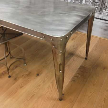 Mohawk Aircraft Dining Table Home Smithers of Stamford £ 518.00 Store UK, US, EU, AE,BE,CA,DK,FR,DE,IE,IT,MT,NL,NO,ES,SE