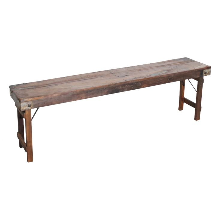 Folding Reclaimed Bench Dining Tables Smithers of Stamford £ 273.00 Store UK, US, EU, AE,BE,CA,DK,FR,DE,IE,IT,MT,NL,NO,ES,SE