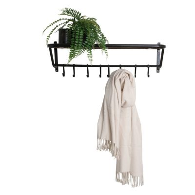 Industrial Train Coat Rack