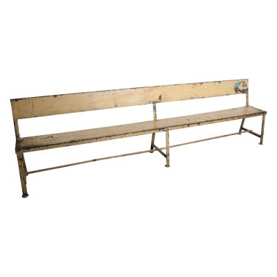 Industrial Hospital Metal Bench
