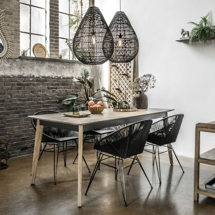 Visage Designer Dining Table Industrial Furniture Smithers of Stamford 1,368.00 Store UK, US, EU, AE,BE,CA,DK,FR,DE,IE,IT,MT,...