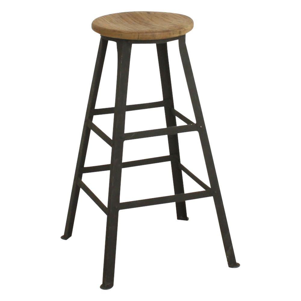 Furniture Stores Stamford Ct: Wood And Metal Bar Stools