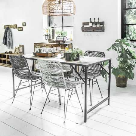 Outdoor Dining Rattan Chairs Retro Furniture Smithers of Stamford £ 230.00 Store UK, US, EU, AE,BE,CA,DK,FR,DE,IE,IT,MT,NL,NO...