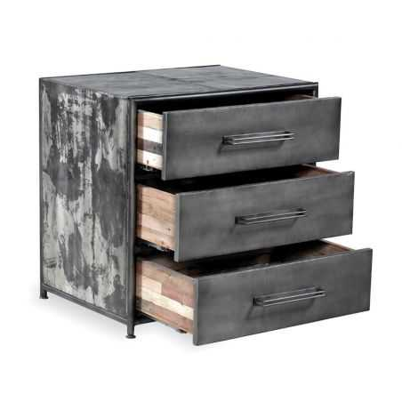 New York Loft Industrial Drum Chest Chest of Drawers Smithers of Stamford £675.00 Store UK, US, EU, AE,BE,CA,DK,FR,DE,IE,IT,M...