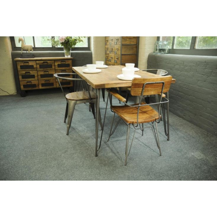Hairpin Leg Dining Table UK