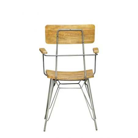 Hairpin Leg Dining Chair Industrial Furniture Smithers of Stamford £210.00 Store UK, US, EU, AE,BE,CA,DK,FR,DE,IE,IT,MT,NL,NO...