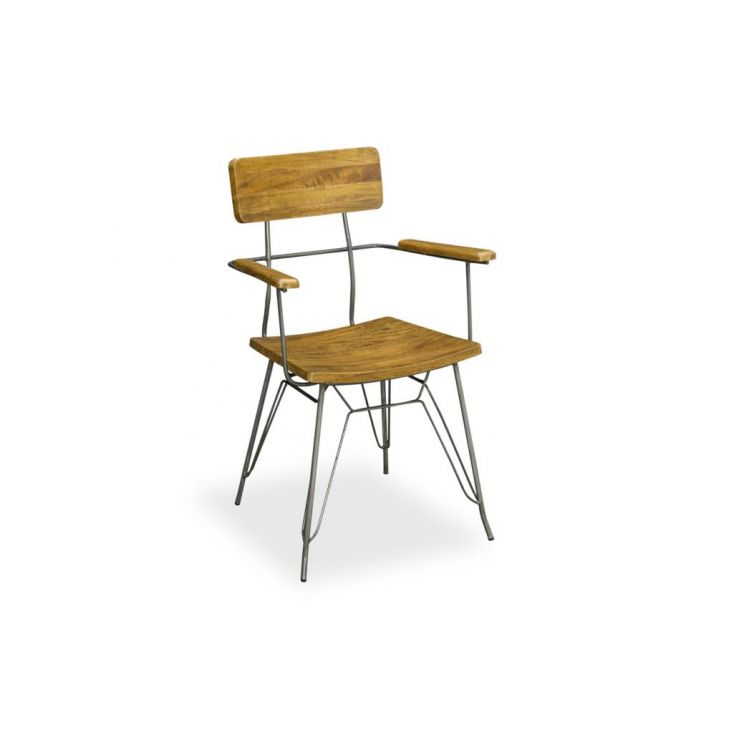 Hairpin Leg Dining Chair Industrial Furniture Smithers of Stamford £ 290.00 Store UK, US, EU, AE,BE,CA,DK,FR,DE,IE,IT,MT,NL,N...