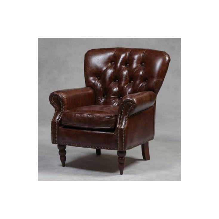 Vintage Button Leather Chair Smithers Archives Smithers of Stamford £ 1,108.00 Store UK, US, EU, AE,BE,CA,DK,FR,DE,IE,IT,MT,N...