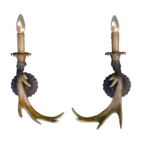 Antler Wall Lamp Smithers Archives Smithers of Stamford £111.25 Store UK, US, EU, AE,BE,CA,DK,FR,DE,IE,IT,MT,NL,NO,ES,SE