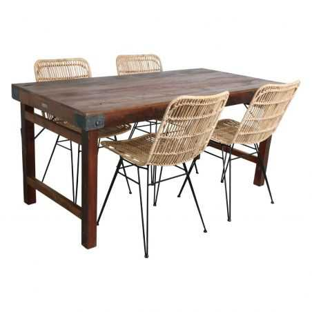 Distressed Reclaimed Wood Dining Tables Dining Tables Smithers of Stamford £ 620.00 Store UK, US, EU, AE,BE,CA,DK,FR,DE,IE,IT...