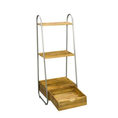 Freestanding Industrial Shelf