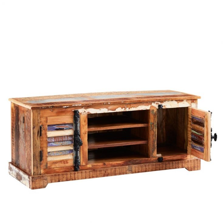 Recycled Wood TV Unit Reclaimed Wood Furniture Smithers of Stamford £ 486.00 Store UK, US, EU, AE,BE,CA,DK,FR,DE,IE,IT,MT,NL,...