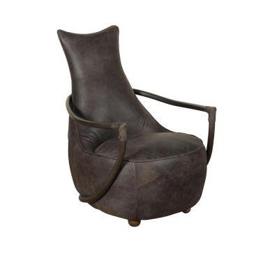Aviator Leather Snug Chair