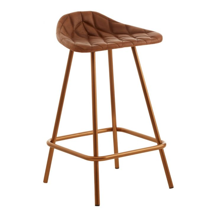 Copper Bar Stool Industrial Furniture Smithers of Stamford £ 180.00 Store UK, US, EU, AE,BE,CA,DK,FR,DE,IE,IT,MT,NL,NO,ES,SE