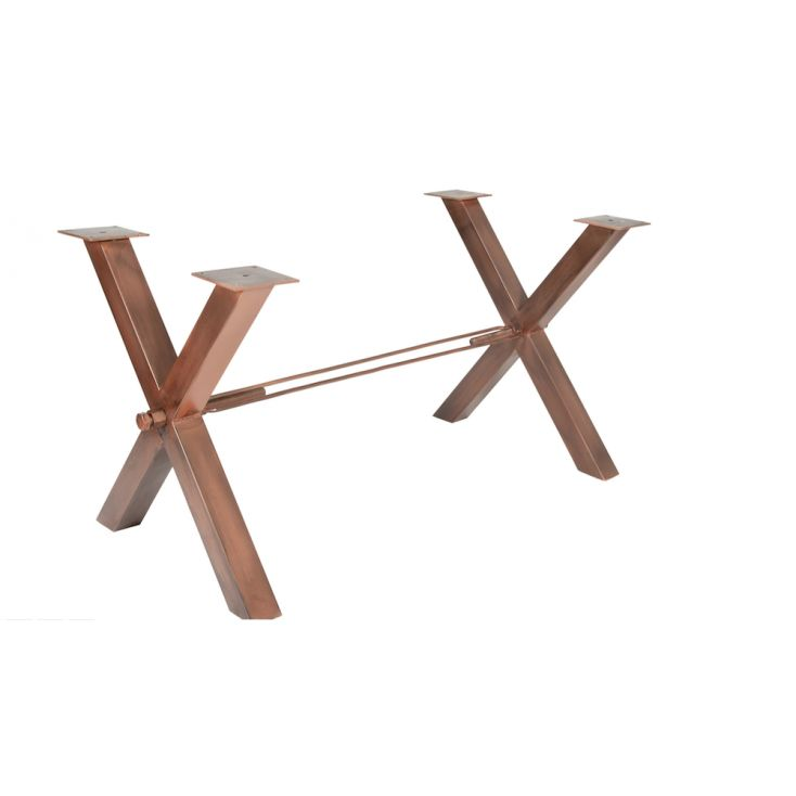 Copper Table Legs Industrial Furniture Smithers of Stamford £ 663.00 Store UK, US, EU, AE,BE,CA,DK,FR,DE,IE,IT,MT,NL,NO,ES,SE