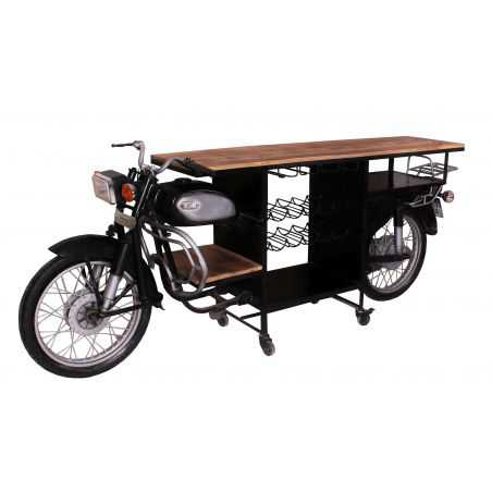 Motorcycle Bar Upcycled Furniture Smithers of Stamford £ 2,450.00 Store UK, US, EU, AE,BE,CA,DK,FR,DE,IE,IT,MT,NL,NO,ES,SE