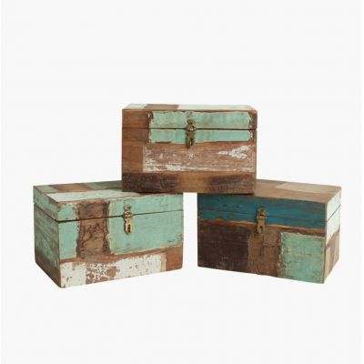 Reclaimed Wood Storage Box Storage Furniture Smithers of Stamford £ 110.00 Store UK, US, EU, AE,BE,CA,DK,FR,DE,IE,IT,MT,NL,NO...