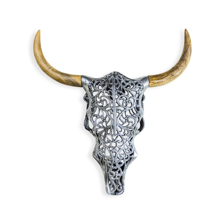 Tribal Bison Head Retro Ornaments Smithers of Stamford £ 77.00 Store UK, US, EU, AE,BE,CA,DK,FR,DE,IE,IT,MT,NL,NO,ES,SE