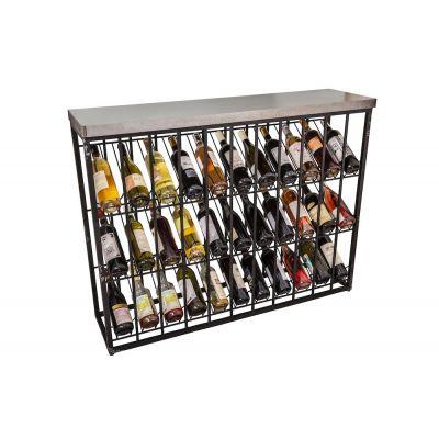 Industrial Wine Rack
