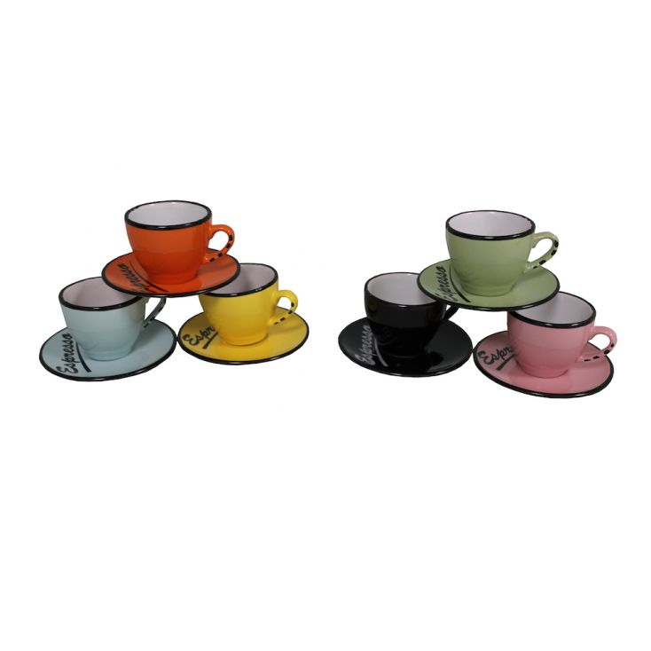 Espresso Cups With Saucer Tableware £ 49.00 Store UK, US, EU, AE,BE,CA,DK,FR,DE,IE,IT,MT,NL,NO,ES,SE