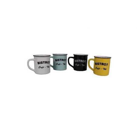 Bistro Tea Mugs Tableware  £ 65.00 Store UK, US, EU, AE,BE,CA,DK,FR,DE,IE,IT,MT,NL,NO,ES,SE